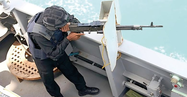 Emiri Naval Forces holds joint exercise with Indian Navy