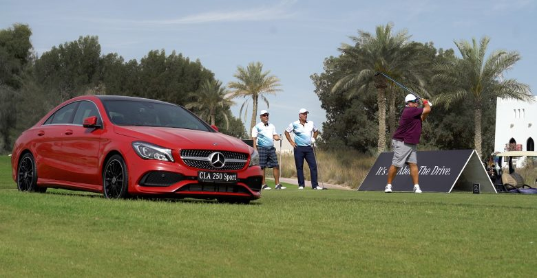 The third edition of the Mercedes Trophy Golf Tournament in Qatar gathers 88 players