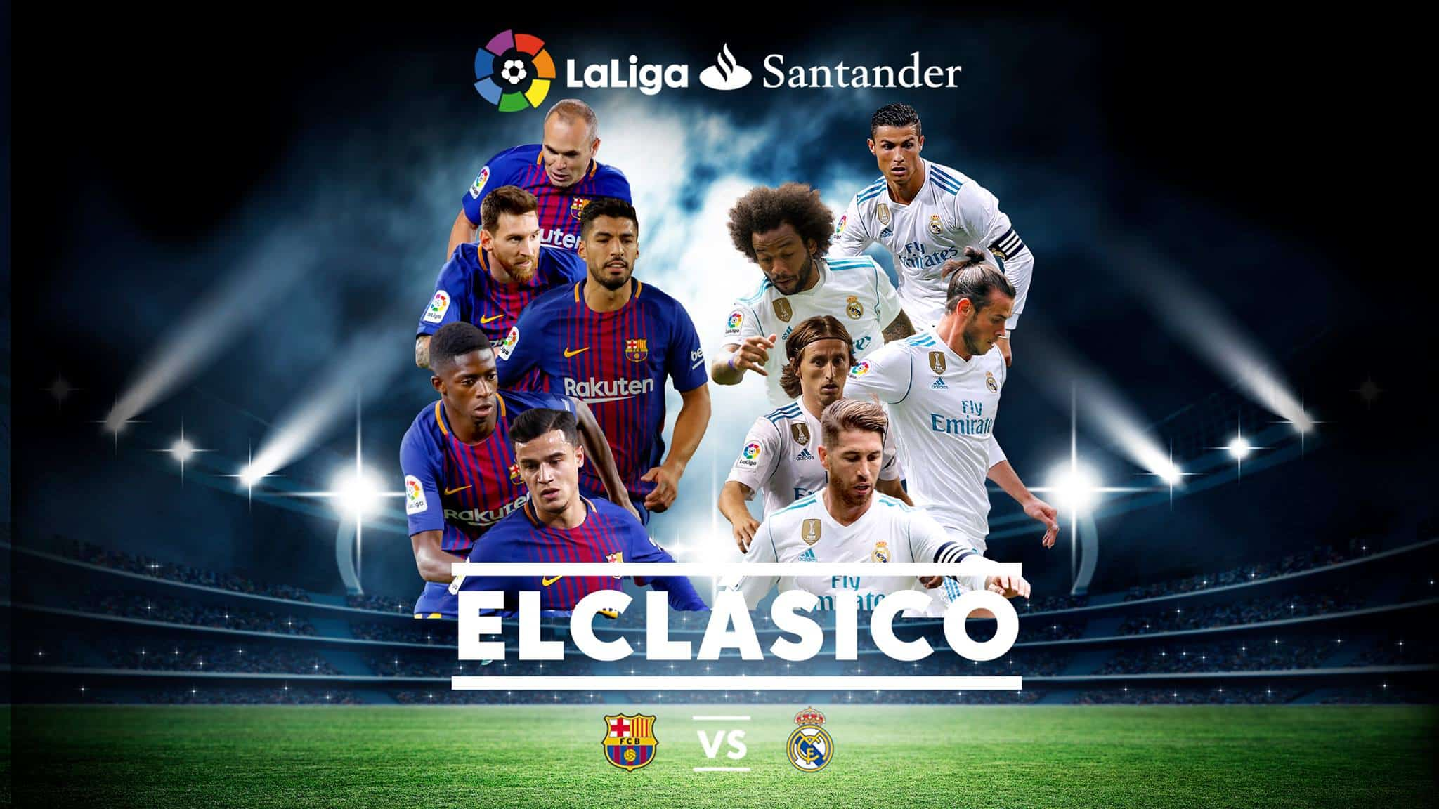 ElClasico | FC Barcelona vs Real Madrid