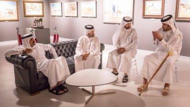 Father Amir visits Arabian Horse exhibition at Katara