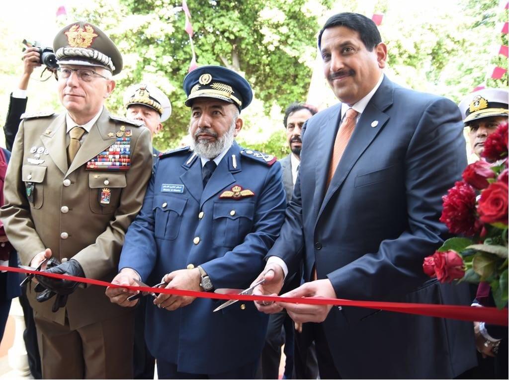 Chief of Staff inaugurates Military Attache headquarters in Rome