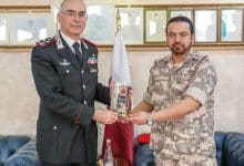 Photo of Military Police Commander meets Commanding General of Italy's Carabinieri