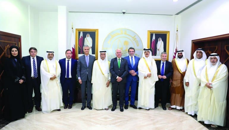Qatar, Spain explore bilateral relations