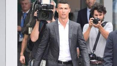 Photo of Cristiano Ronaldo fined €3.2m, but set to escape prison