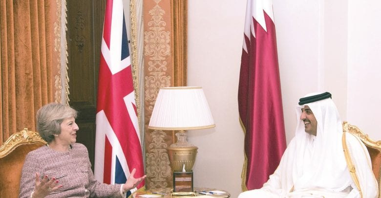 Amir's visit to take Qatar-UK ties to new heights