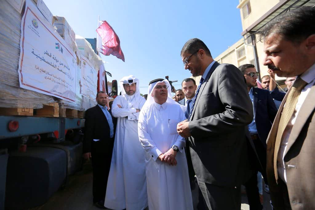 Qatar Committee for the Reconstruction of Gaza continues