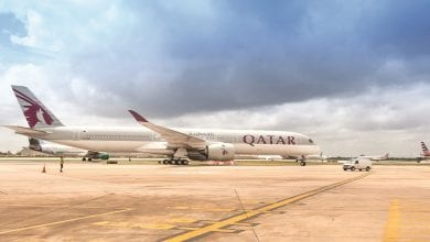 Photo of Qatar Airways flies A350-1000 to US for the first time