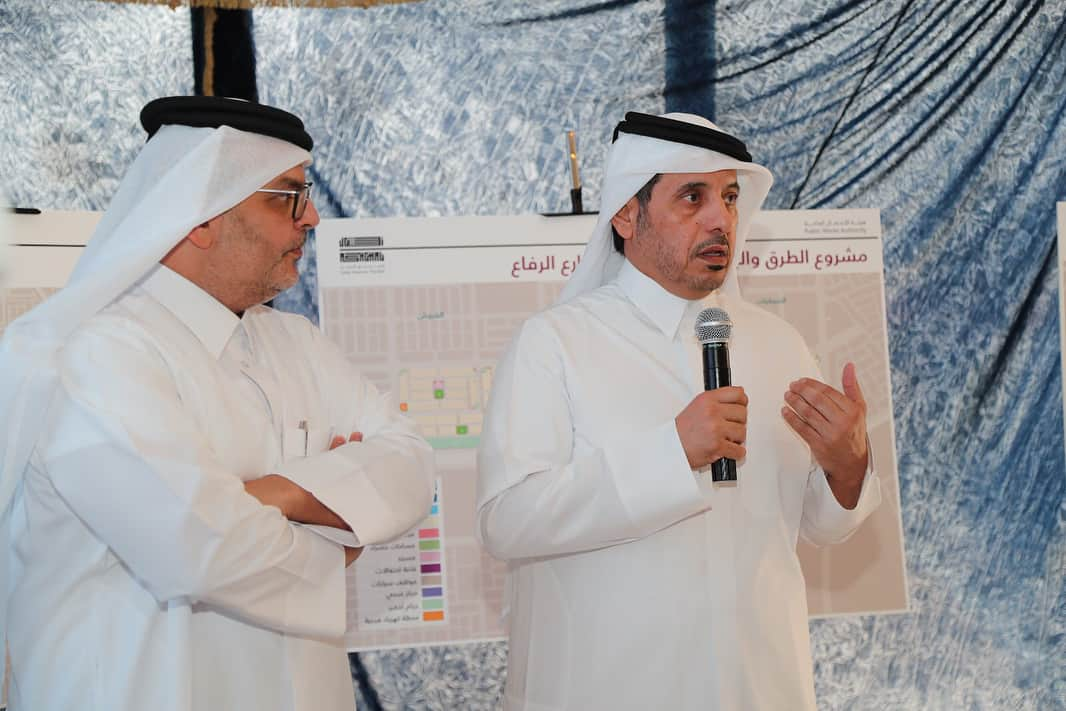 PM visits citizens' lands project at Al Froush, Al Kharaitiyat