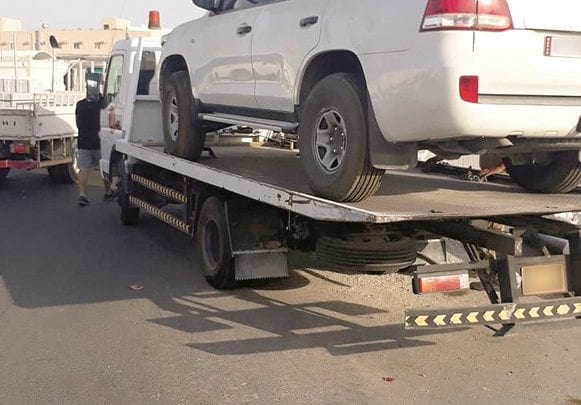 MoI clamps down on abandoned vehicles in Industrial Area