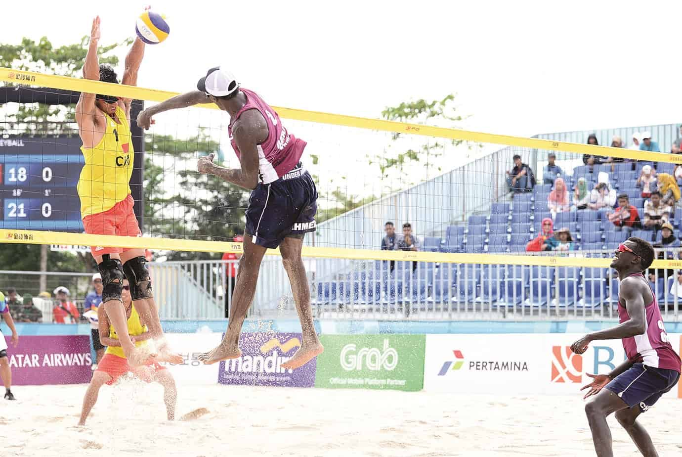 Beach Volleyball: Qatar face Indonesian hurdle in title clash