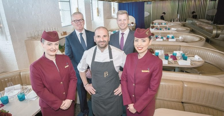 Qatar Airways collaborates with chef Calombaris again for new inflight menu