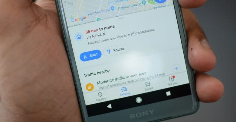 Google Maps' location sharing now lets you track battery status