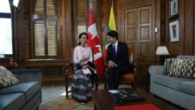 Canada's Parliament Moves to Strip Honor for Myanmar's Leader