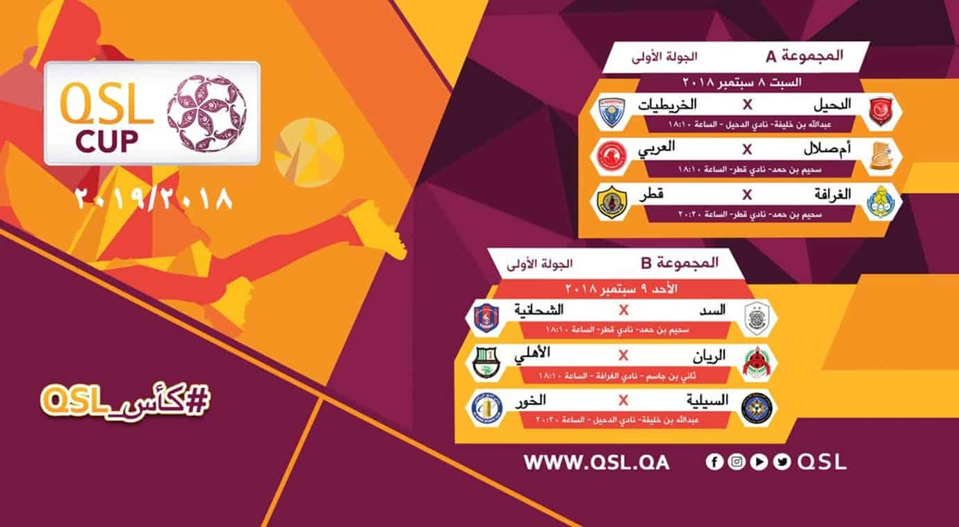 Organisers revise QSL Cup schedule