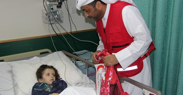 QRCS launches 'Little Hearts' project in Afghanistan