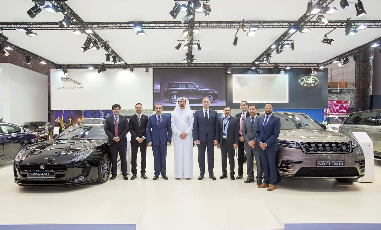 BOTH THE NEW RANGE ROVER AND RANGE ROVER SPORT SHOWCASED AT 2018 QATAR MOTOR SHOW #QMS2018