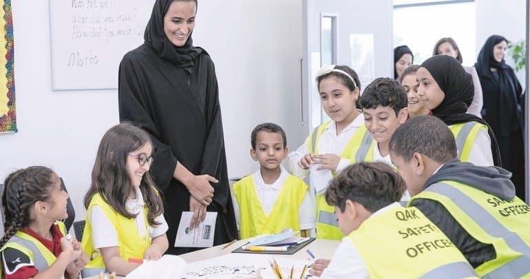 Sheikha Hind attends QAK's 10th anniversary celebrations