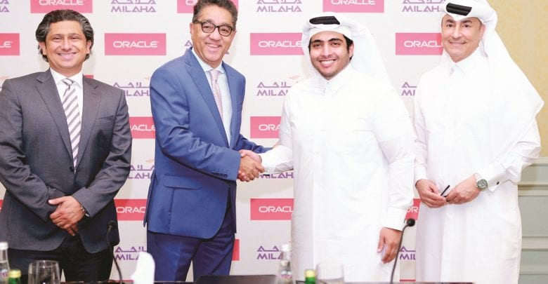 Milaha signs digital transformation deal with Oracle Cloud