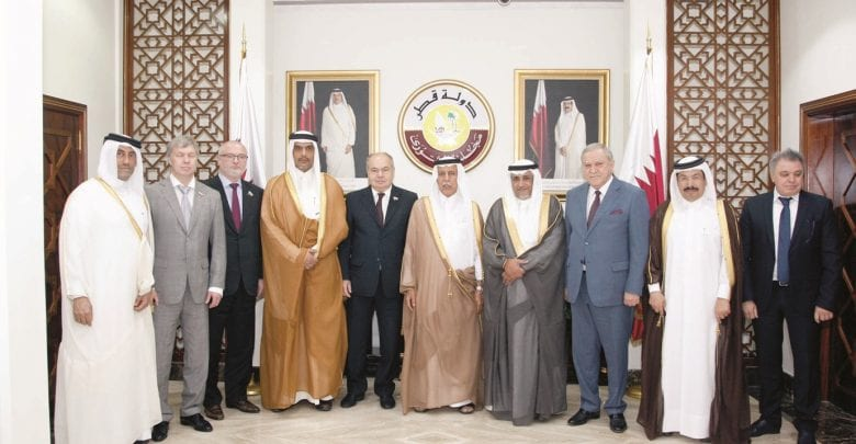 Qatar, Russia discuss bilateral relations