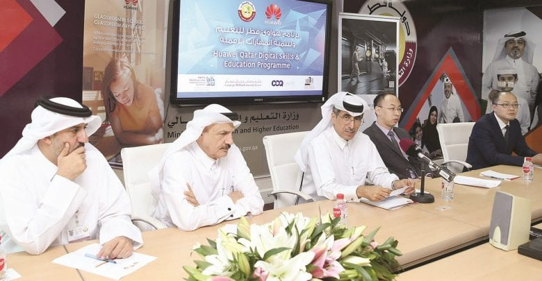 Ministry of Education announces digital skills programme with Huawei