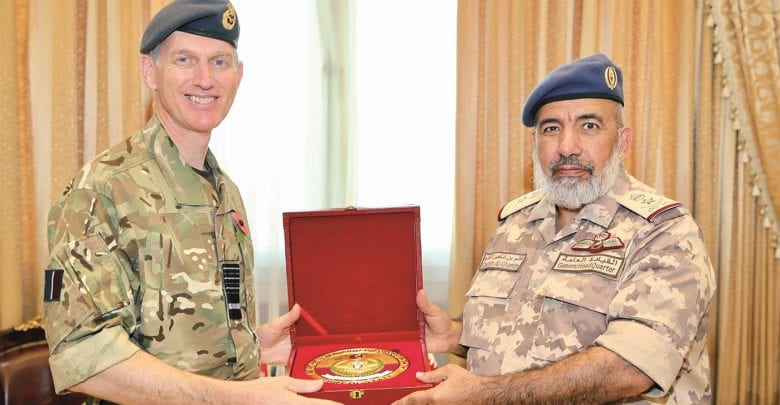 Qatari Armed Forces & British Air Force review ties | What's