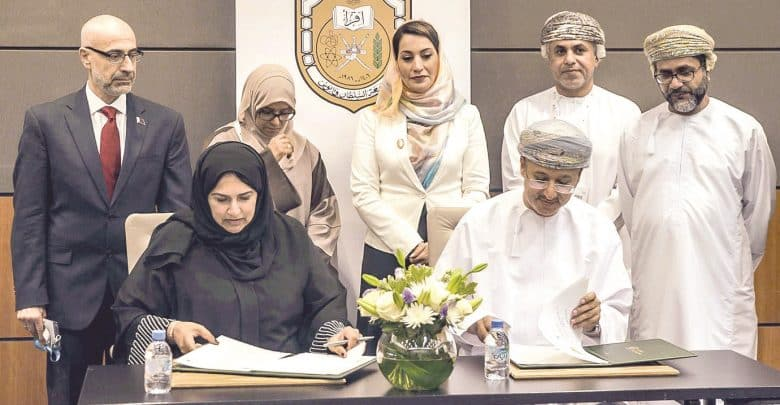 WISH signs MoU with Oman's Sultan Qaboos University
