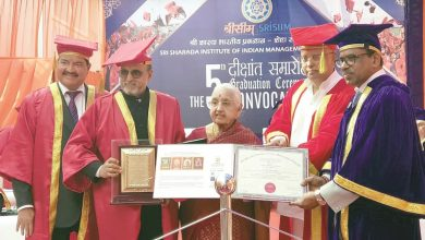 India's Research Foundation confers doctorate degree on Dr. R Seetharaman