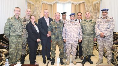 Chief of Staff of Qatari Armed Forces meets Nato delegation