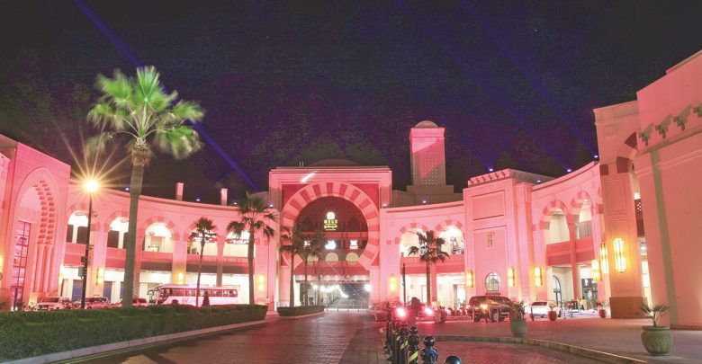 """""""The Pearl-Qatar"""" in its best form to celebrate the National Day"""