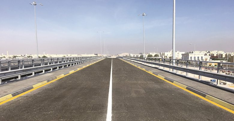 Ashghal opens new temporary road parallel to Al Shamal Road
