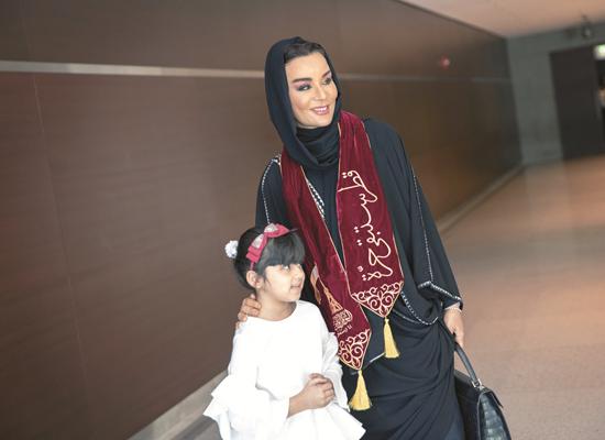Sheikha Moza attends QF schools' Qatar National Day celebrations