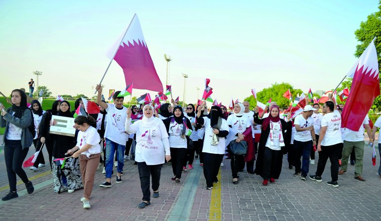 Expatriates take part in Friendship Parade with fervour