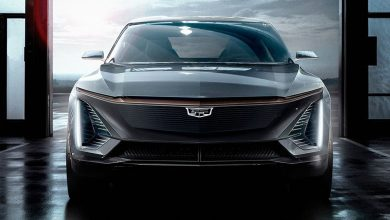 Cadillac shows photo of its first electric car of the future