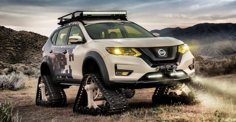 """Nissan produces the first non-combatant """"tracked"""" vehicle"""