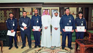 Customs officials honoured