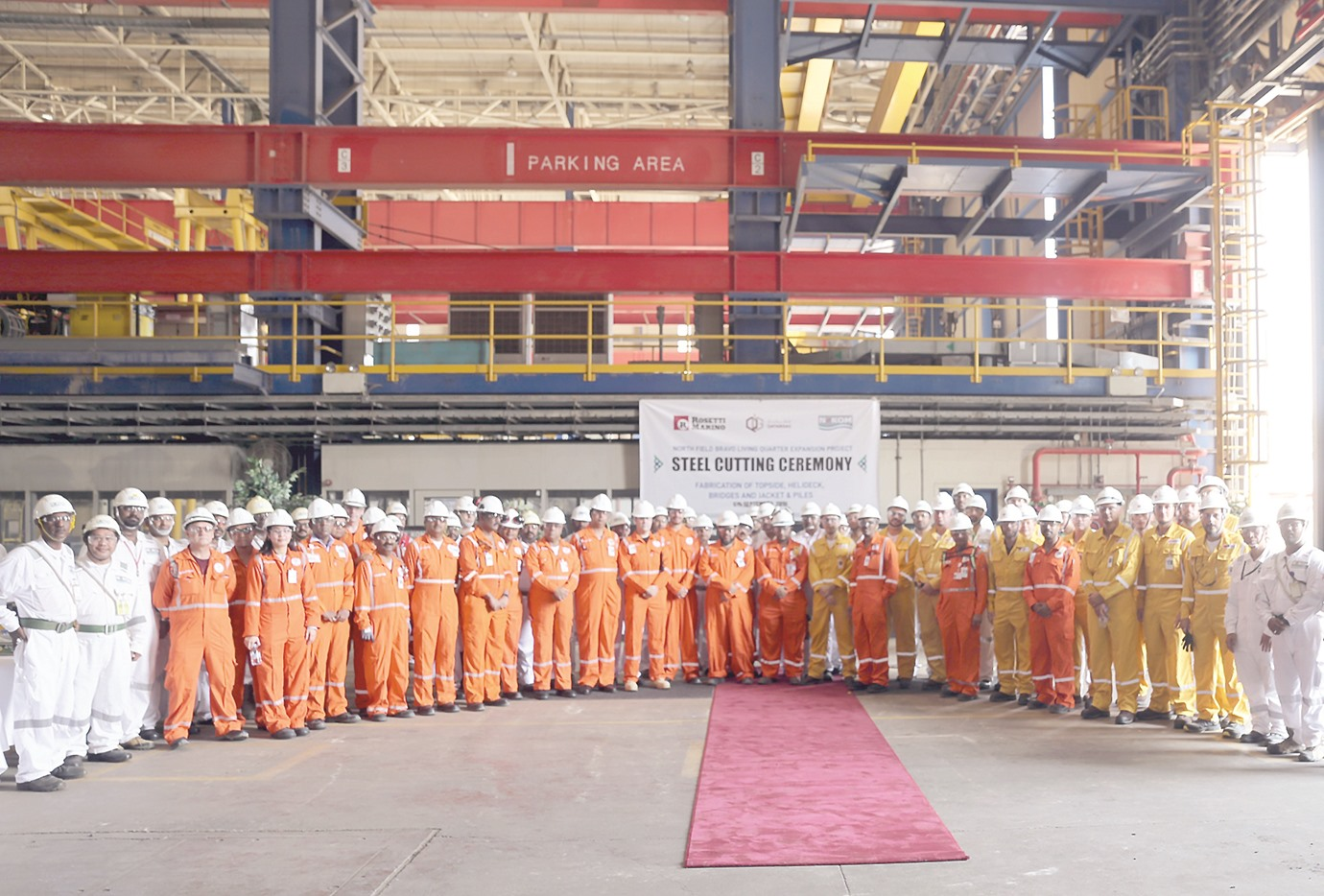 First offshore living quarters to be fabricated in Qatar