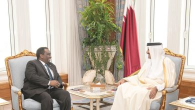 Amir meets outgoing Ambassador of Ethiopia