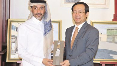 Minister of Culture and Sports meets with Ambassador of Korea