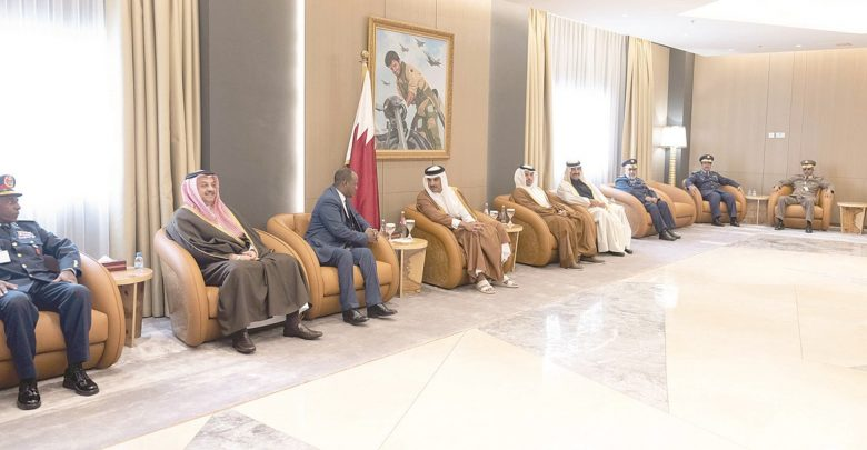 Amir meets Minister of Defence of Somalia
