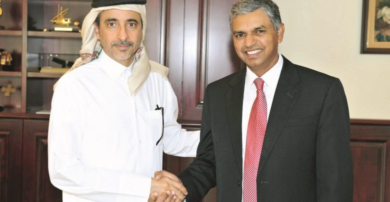Minister of Culture and Sports meets Indian envoy