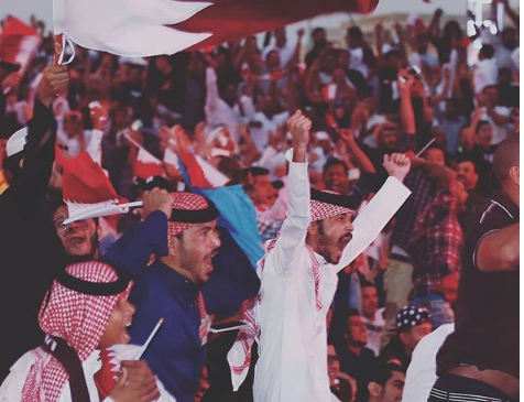 The public screening of The Asian Cup 2019 Final
