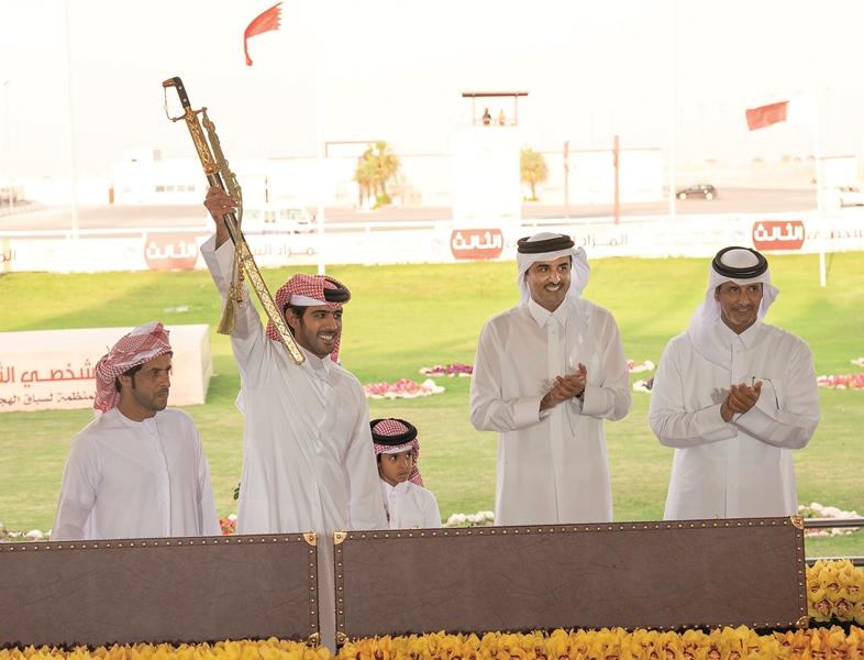 Amir crowns winners of Founder Camel Festival