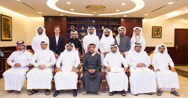 Minister of Culture and Sports honours Qatari inventors