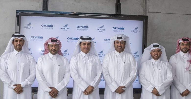Oryx GTL signs five-year pact with AZF to sponsor freestyle aquatics for people with disabilities
