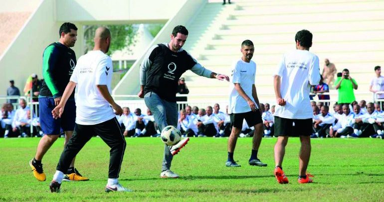 Qatar Charity marks National Sport Day with special activities