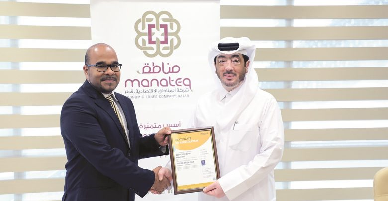 Manateq's commitment recognised with ISO 27001 Certification
