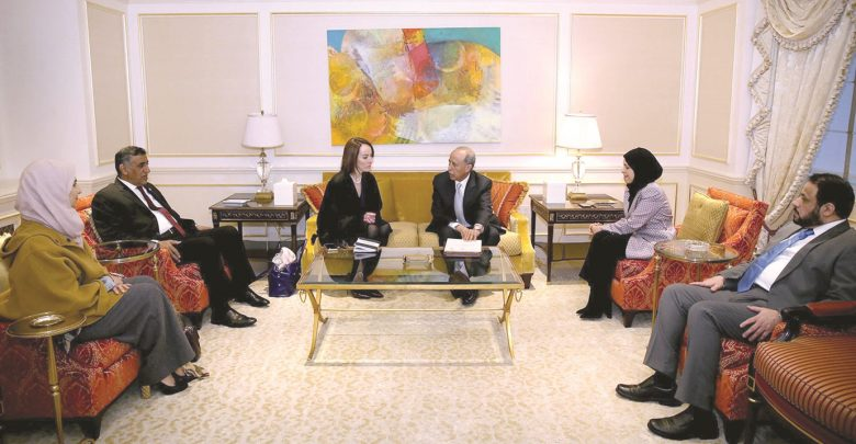Shura Council Speaker discusses strengthening relations with the Inter-Parliamentary Union