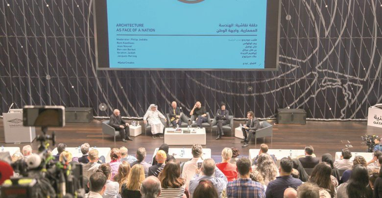 Famous architects discuss architecture in Qatar to celebrate opening of NMoQ