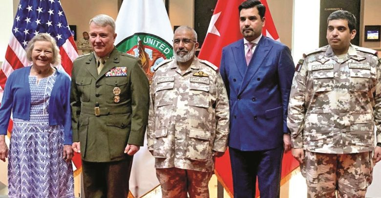 Chief of Staff attends US ceremony