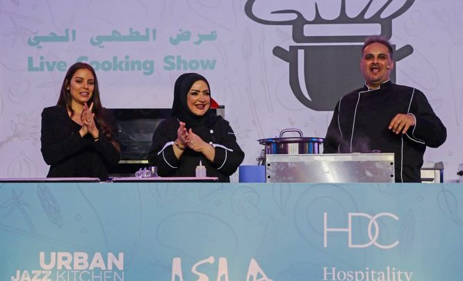 The Pearl-Qatar hosts HDC's live cooking shows